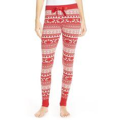Forever 21 Women's Reindeer-Patterned Leggings ($20) ❤ liked on ...