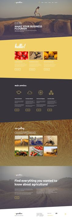 Crop Farming - WordPress Theme