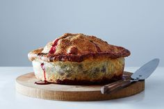 Summer fruit pie recipes: A mouthwatering Deep-Dish Cherry Pie perfect for your filling fans Pie Recipes, Sweet Recipes, Cooking Recipes, Cherry Recipes, Fruit Recipes, Delicious Recipes, Biscotti, Dessert Crepes, Gourmet