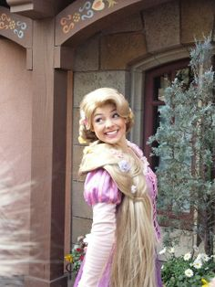 This Rapunzel is perfect!