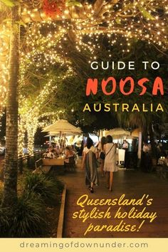 Discover things to do in Noosa, Queensland wit this itinerary by public transport. Enjoy beautiful Australian beaches, stunning coastal hikes, funky boutique shopping and waterside restaurants on the Sunshine Coast! Brisbane To Cairns, Brisbane City, Travel Advise, Travel Expert, Travel Guides, Australia Travel Guide, Moving To Australia, Noosa Australia, Things To Do In Brisbane