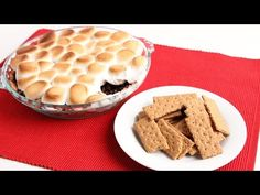 S'mores Dip - Laura Vitale - Laura in the Kitchen Episode 949 - YouTube 450 for 5-7 minutes