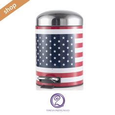 Portarifiuti USA 5L CLICCA SUL LINK >>>  http://www.teresapizzigalloshop.it/home/246-portarifiuti-usa-5l.html