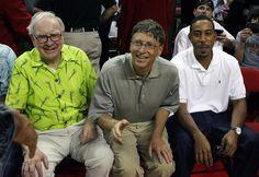 Warren Buffett, Bill Gates and Ludacris. Haha the best!