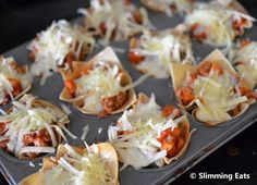 Mini Lasagne Cups | Slimming Eats - Slimming World Recipes