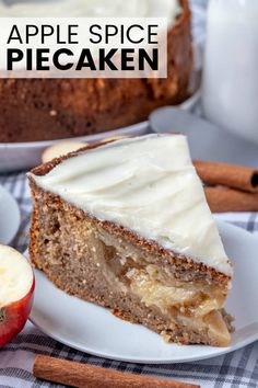 Want an easy, minimal ingredient show stopping dessert This Apple Spice Piecaken is a moist spice caked stuffed with a full apple pie, perfect for the holiday season. Dessert Cake Recipes, Cake Mix Recipes, Desserts To Make, Tart Recipes, Dessert Ideas, Dessert Simple, Homemade Pie, Homemade Cakes, Apple Spice Cake