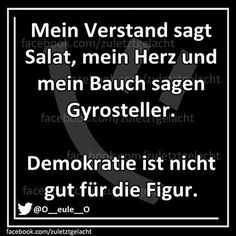 . Best Quotes, Funny Quotes, Word Fonts, German Quotes, Susa, Word Pictures, Just Smile, Food Humor, Funny Facts
