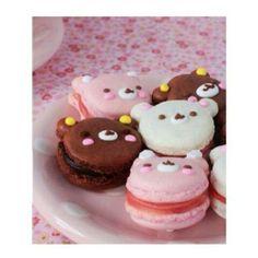 Macarons em forma de ursinhos!