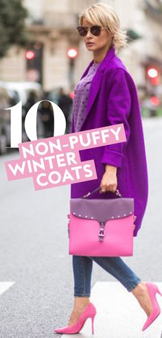 Here we round up the best non-puffer coats that are actually going to keep you warm. #WinterCoats #PufferCoatAlternatives