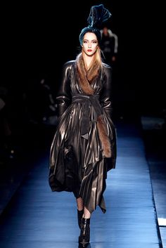 Jean Paul Gaultier Fall 2010 Couture Fashion Show - Alana Zimmer (Elite)