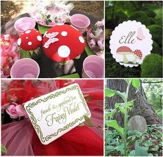 Woodland Fairy Party - with magic fairy dust, fairy skirts, gnomes, fairy berries, and snail sandwiches