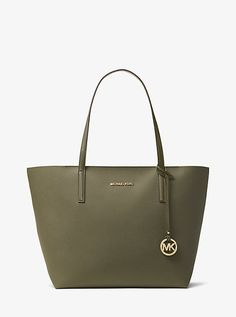 e8ab05300 Michael Kors Hayley Large Coated Canvas Tote Mk Purse, Signature Style, Michael  Kors Jet