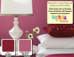 Decorating Tips from CertaPro Painters with Hot and Ruby Shade
