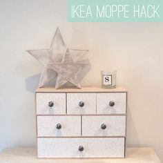 Want a cheap and easy project as we near the end of what feels like the *longest* month? Today I'm sharing a simple and cheap Ikea Moppe made pretty using minimal resources.