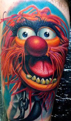 Tattoo Artist - Nikko Hurtado - Cartoon tattoo
