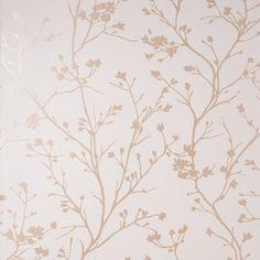 Sprig Natural Wallpaper