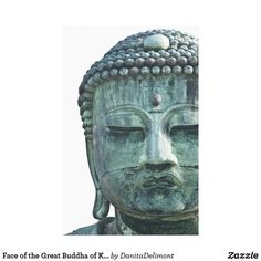 Face of the Great Buddha of Kamakura also