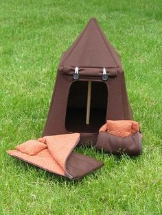 This is the tent I am making for the grand daughters...pattern by site..