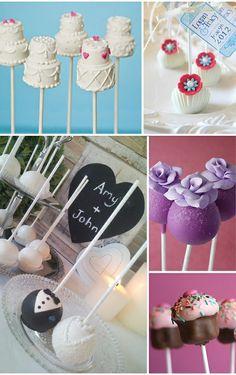 Ideas cakepops para bodas