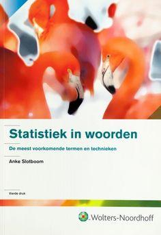 Statistiek in woorden - Anke Slotboom