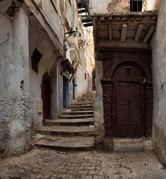 """Welcome to the Algiers """"Casbah"""" Algiers city(الجزائر), Algeria, North Africa by Batistini Gaston, via Flickr"""