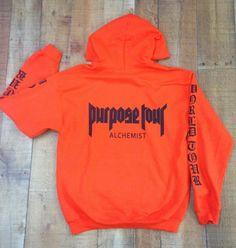 Justin Bieber Purpose Tour hoodie world tour Justin Bieber