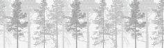 Weaving Wood Grey - Wall Mural & Photo Wallpaper - Photowall
