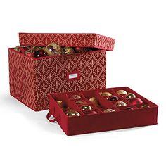 Christmas Decoration Storage Box  Holidays  Pinterest  Storage