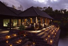 Bulgari Resort, Bali  - Il Ristorante restaurant exterior