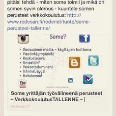 Some yrittäjän työvälineenä verkkokoulutus. 25€ +alv  Www.redenet.fi
