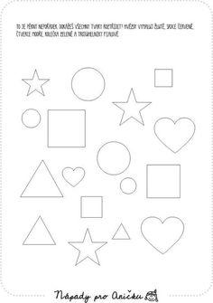 Shapes Worksheets, Math Centers, Kindergarten, Printables, Symbols, Letters, Teaching, Activities, Kids