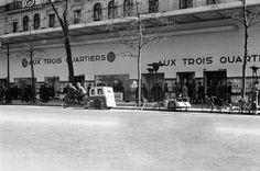 Circuler à Paris sous l'Occupation Boulevard de la Madeleine 1940-1944