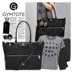 """Gymtote.co.uk"" by gaby-mil ❤ liked on Polyvore featuring Madewell, Sundry, Clive Christian, Chanel, backpack, tote and gymtote"
