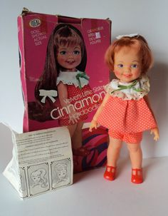 Vintage Cinnamon Doll Ideal Hairdoodler 70s with Original Box and Instructions Collectable #doll #vintage #toy