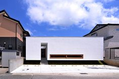 Hair salon above&beyond モダンな庭 の ttyya モダン Minimal Architecture, Japanese Architecture, Architecture Design, Sips Panels, Building Skin, Casa Patio, Archi Design, Modern Contemporary Homes, Cute House