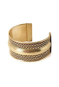 Braided Cuff Bracelet   FOREVER21 - 1053121721