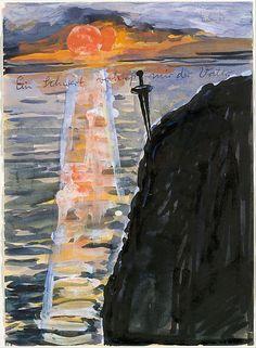 My Father Pledged Me a Sword Anselm Kiefer (German, born Donaueschingen, 1945) Date: 1974–75 Metropolitan NY