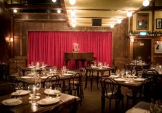 Restaurant Hubert - 15 Bligh Street - Seven distinct spaces, a wall of wine and a baby grand piano. The owners of Frankie's Pizza, Baxter Inn and Shady Pines went all out for their first restaurant.