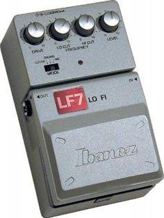 Distorsor Lo-Fi Low Cost filer