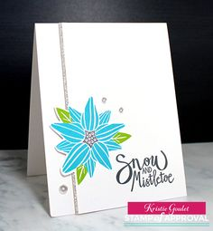 Hi everyone! It's release day for the SOA Winterhaven Collection! So exciting!   I have some more cards to share with you today using g...