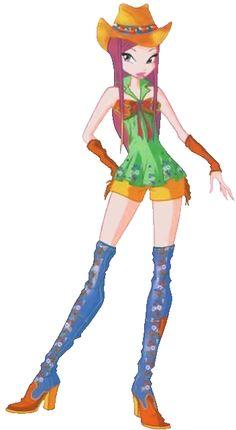 Winx Club Roxy Dress | Winx Club Go Western