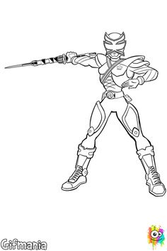 nice power rangers samurai coloring pages