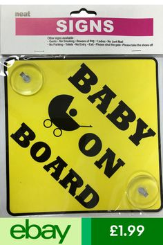 Baby On Board Safety 1st Sign Pink Girls