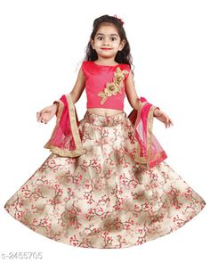 Checkout this latest Lehanga Cholis Product Name: *Kids Girls Lehanga Choli* Sizes:  6-12 Months, 9-12 Months, 12-18 Months, 18-24 Months, 1-2 Years, 2-3 Years, 3-4 Years, 4-5 Years, 5-6 Years, 6-7 Years, 7-8 Years, 8-9 Years, 9-10 Years, 10-11 Years, 11-12 Years, 12-13 Years, 13-14 Years Easy Returns Available In Case Of Any Issue   Catalog Rating: ★4.2 (2655)  Catalog Name: Stylish Kids Girls Lehanga Cholis Vol 7 CatalogID_329450 C61-SC1137 Code: 944-2455705-9201