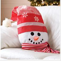 Frosty: Free Christmas Sewing Pattern  Posted by dailycraft