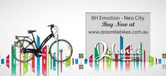 BH Emotion NEO City  Buy Now at http://www.dolomitiebikes.com.au