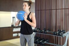 #dynamicmovement it is the oldest forms of strength and conditioning used to improve health, explosive power, and speed #medicineball #simpleexercise #trainingprogram #bali