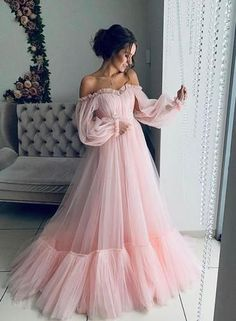 Makeup Looks Discover Off the shoulder dress for wedding guest fluffy tulle dress for women with corset floor length maxi dress formal off shoulder gown any color Girls Pageant Dresses, Women's Dresses, Baby Girl Dresses, Elegant Dresses, Pretty Dresses, Beautiful Dresses, Princess Dresses, Puffy Dresses, Fashion Dresses