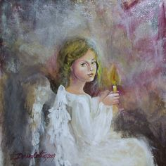 'Angel by dorina costras Heaven Sent, Angels In Heaven, Canvas Prints, Framed Prints, Art Prints, Angel Stories, Angels Touch, Psy Art, Nature Spirits