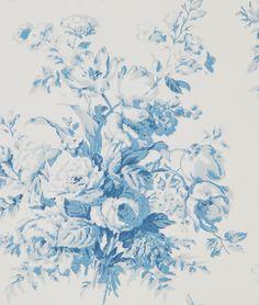 Francoise Bouquet Porcelain wallpaper by Ralph Lauren